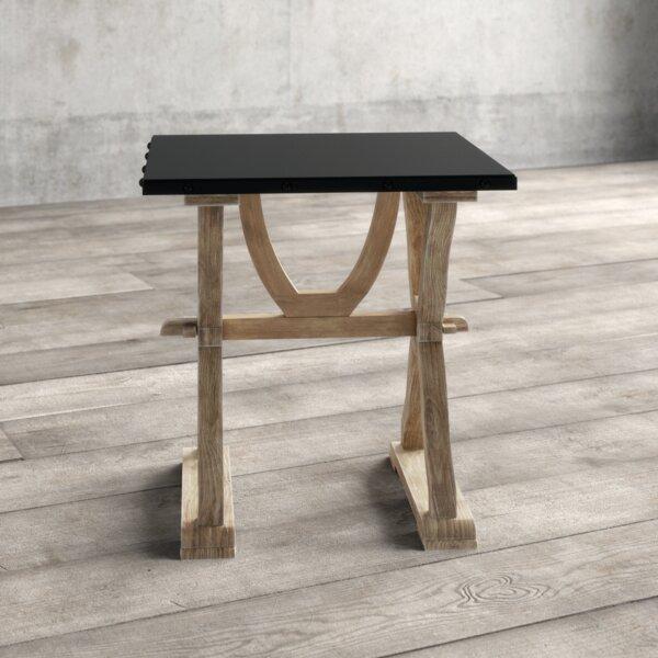 Nelda Trestle End Table By Greyleigh