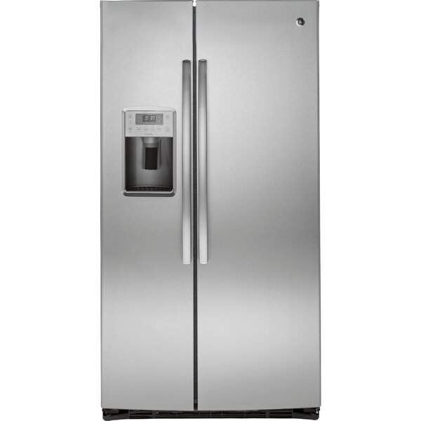 25.3 cu. ft. Energy Star® Side-by-Side Refrigerator by GE Profile™