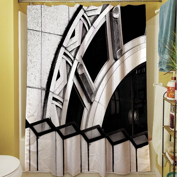 Urban Detail Arch Shower Curtain by Manual Woodworkers & Weavers
