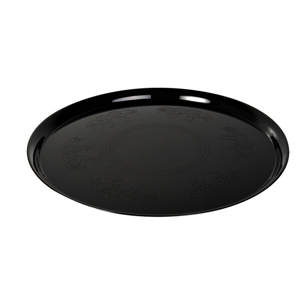 Platter Pleasers Supreme Round Serving Tray (Set of 25) by Fineline Settings, Inc