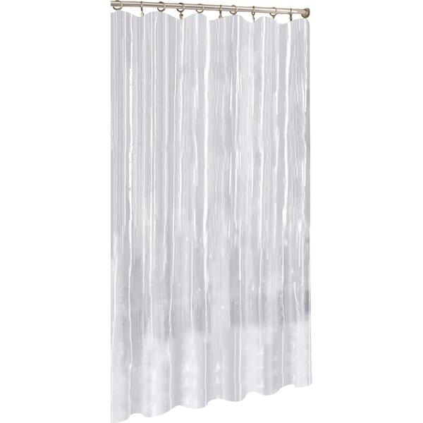 Vinyl Mildew Resistant Shower Curtain Liner by Symple Stuff