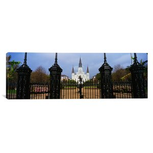 Panoramic St. Louis Cathedral, New Orleans, Louisiana Photographic Print on Canvas by iCanvas
