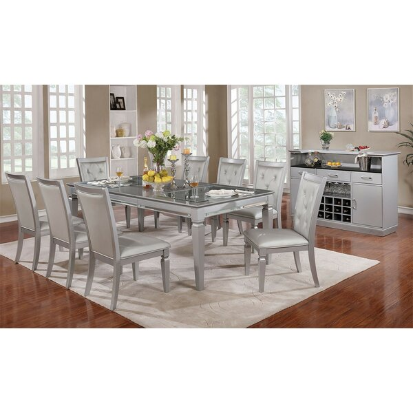 Mayfield 9 Piece Extendable Dining Set By Rosdorf Park