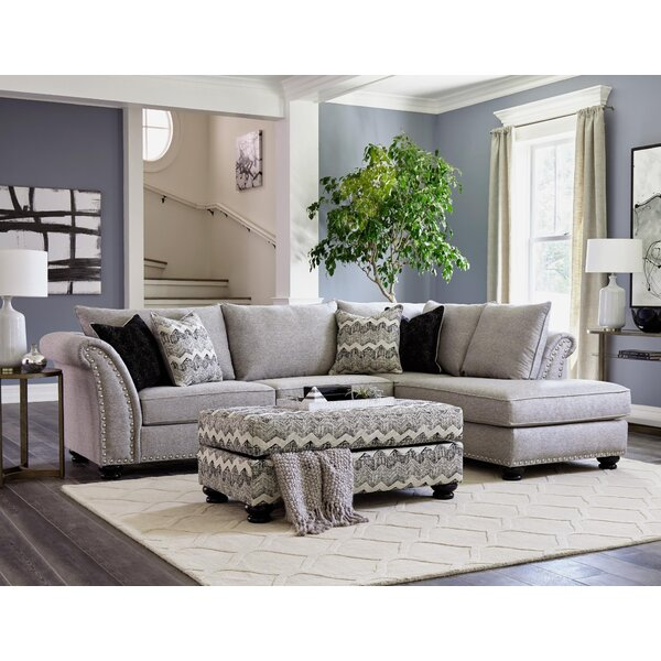 Mccardle Sectional with Ottoman by Red Barrel Studio