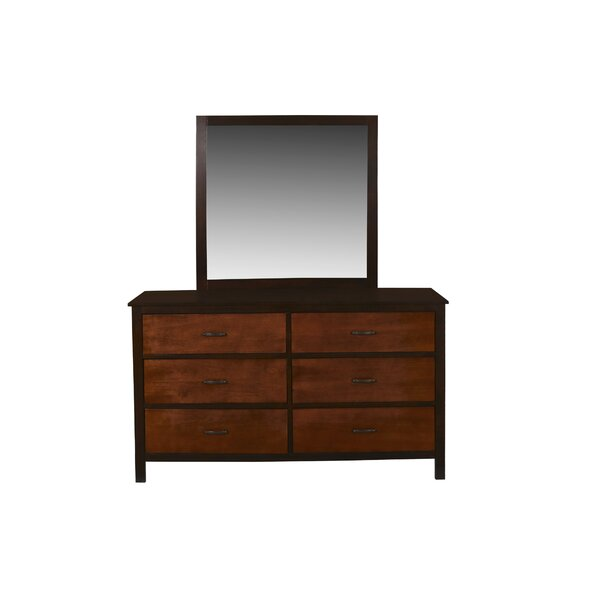 Bynum 6 Drawers Double Dresser by Millwood Pines