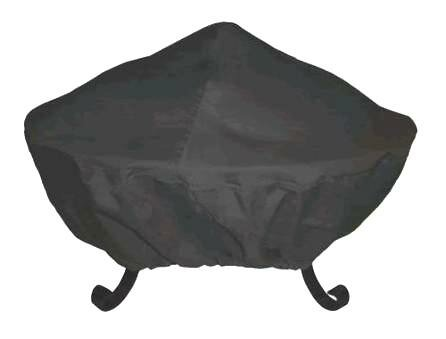 35 Tall Screen Vinyl Fire Pit Cover by Corral