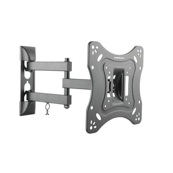 Full Motion Wall Mount for 23-42 TV Screen by Emerald
