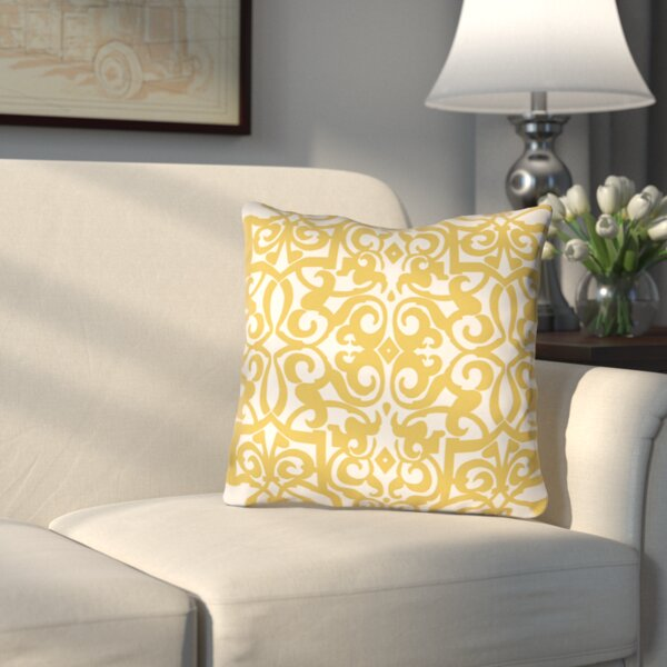 Bainbridge Indoor/Outdoor Throw Pillow by Three Posts