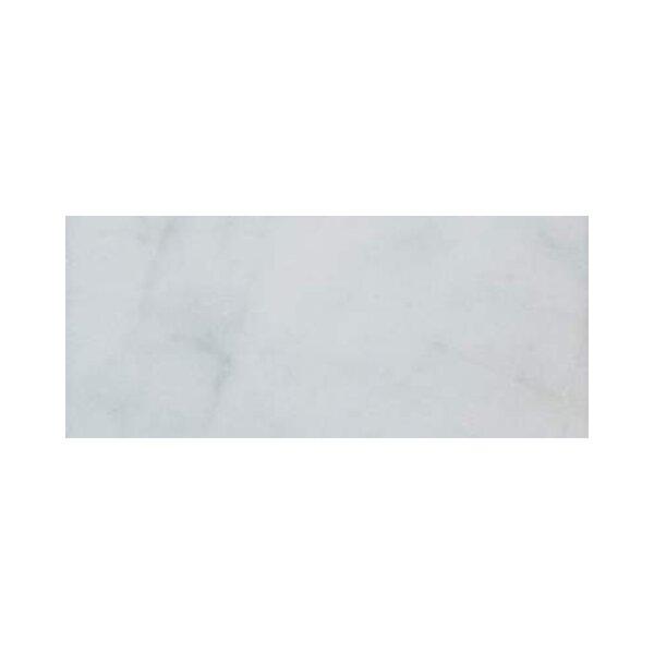 3 x 12 Marble Subway Tile in Bianco Venantino by Ephesus Stones
