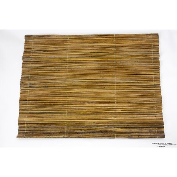 Stained Coco Sticks Placemat (Set of 4) by Desti Design