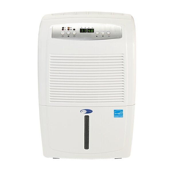 Energy Star 70 Pint Portable Dehumidifier with Cas