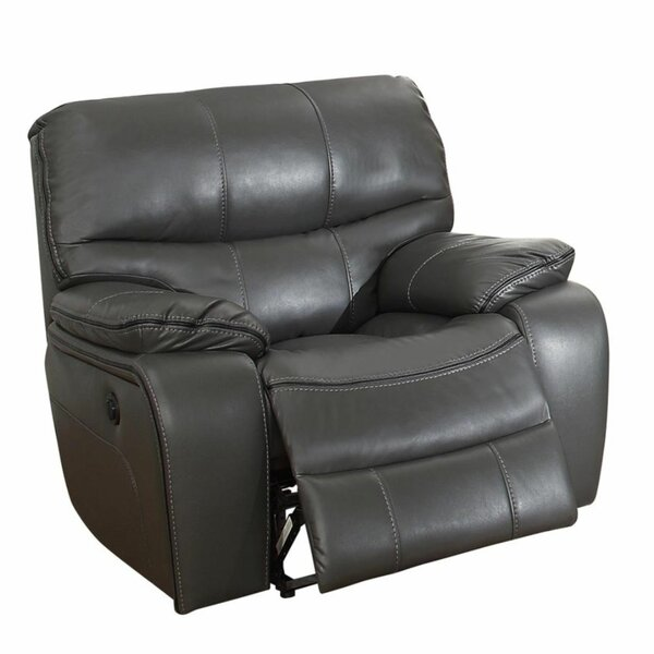 Power Reclining Home Theater Individual Seating Red Barrel Studio BNZC4636