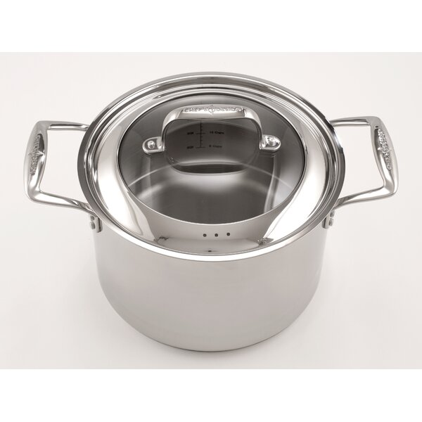 Stock Pot with Lid by Chef's Design