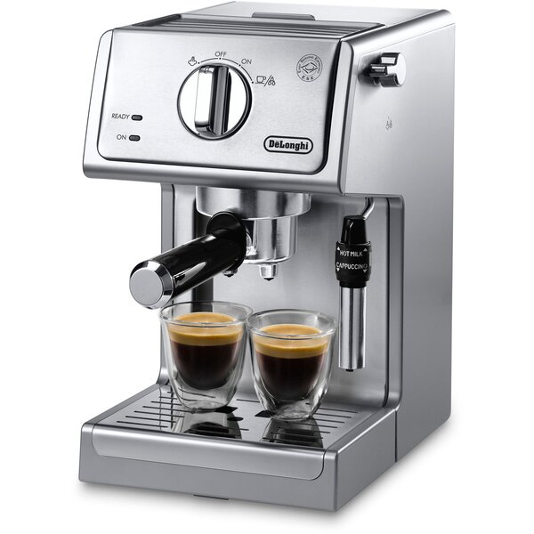 15 Bar Pump Coffee & Espresso Maker by DeLonghi