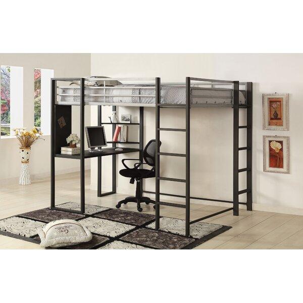 Loft Bed with Shelves by Hokku Designs Hokku Designs