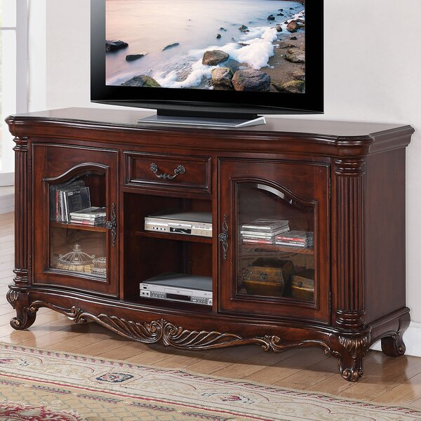 Wellington Solid Wood TV Stand For TVs Up To 78