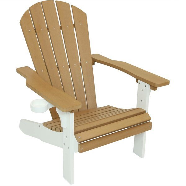 Lindsay All Weather Plastic Adirondack Chair by Breakwater Bay Breakwater Bay