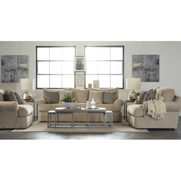 Cerys Configurable Living Room Set by Alcott Hill