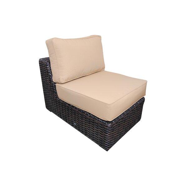 Santa Monica Armless Chair with Cushions by Teva Furniture