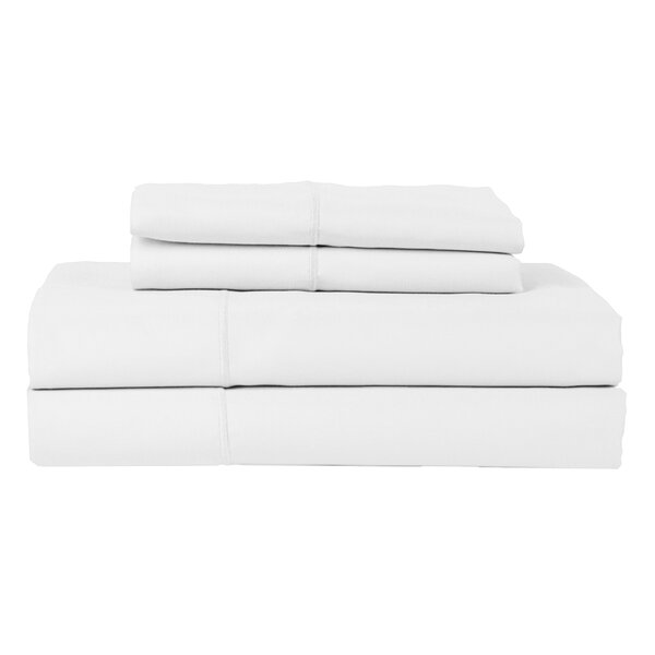 Perthshire Platinum 4 Piece 800 Thread Count Egyptian Quality Cotton Sateen Sheet Set by H.N.International
