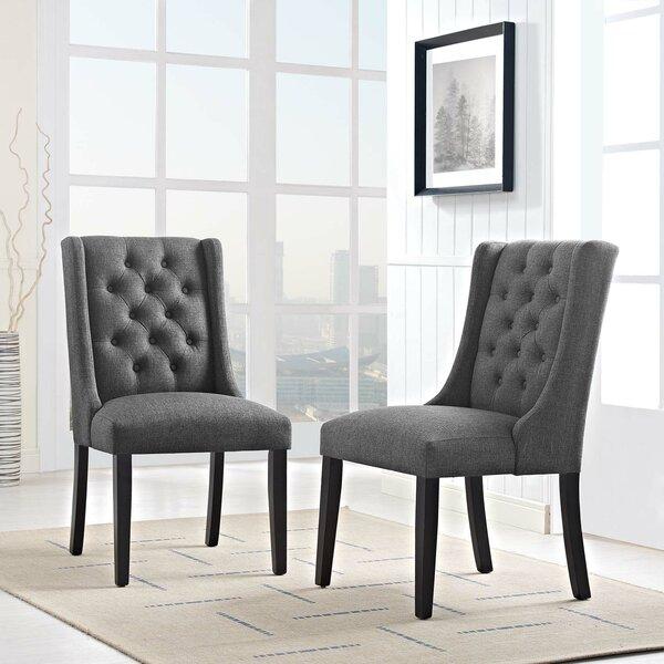 Java Upholstered Dining Chair (Set of 2) by Alcott Hill Alcott Hill