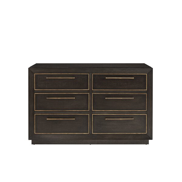 Sherpa 6 Drawer Double Dresser by Wrought Studio