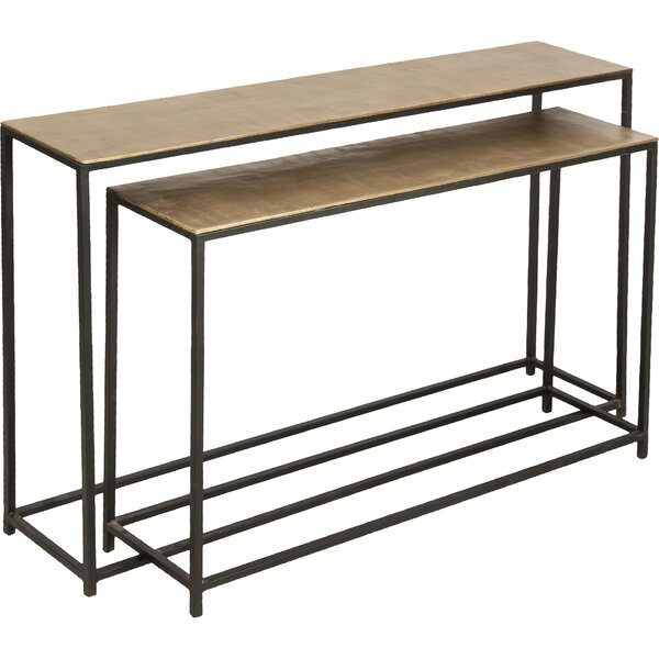 Bambi 2 Piece Console Table Set By Bloomsbury Market