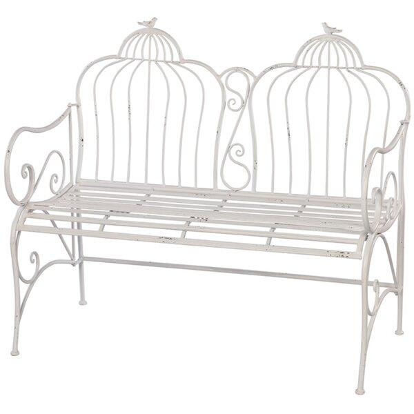 Metal Garden Bench by Melrose International