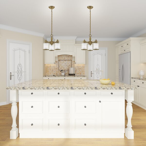 Scher 3 - Light Shaded Classic / Traditional Chandelier by Red Barrel Studio Red Barrel Studio