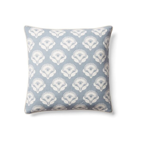 Bright and Fresh Cotton Throw Pillow by Jiti
