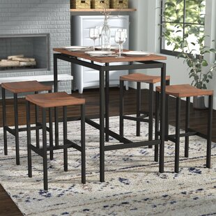 Swigart 5 Piece Pub Table Set By Brayden Studio
