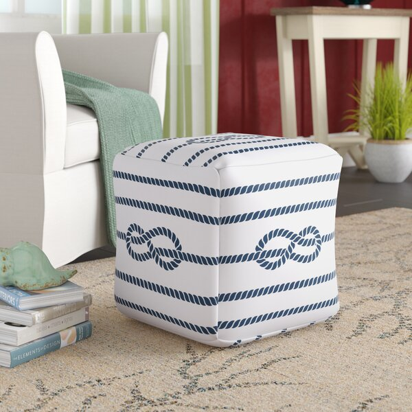 Kingsley Pouf by Beachcrest Home