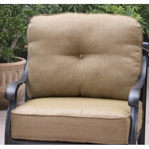 Lincolnville Traditional Deep Seating Chair with Cushion by Fleur De Lis Living