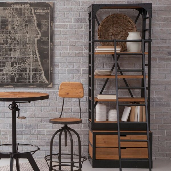 Andrew Etagere Bookcase by 17 Stories