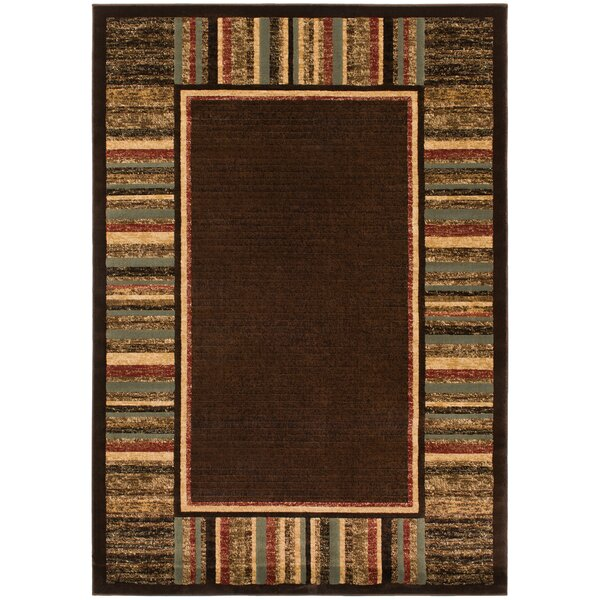 Hometown Strata Mocha Area Rug by Mayberry Rug