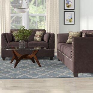 Veronique 2 Piece Living Room Set by Winston Porter