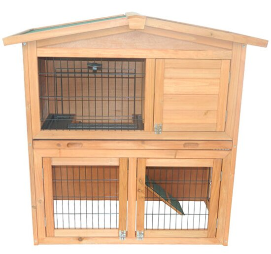 Hardy 40 Wooden Rabbit Hutch Small Animal House Pet Cage by Tucker Murphy Pet