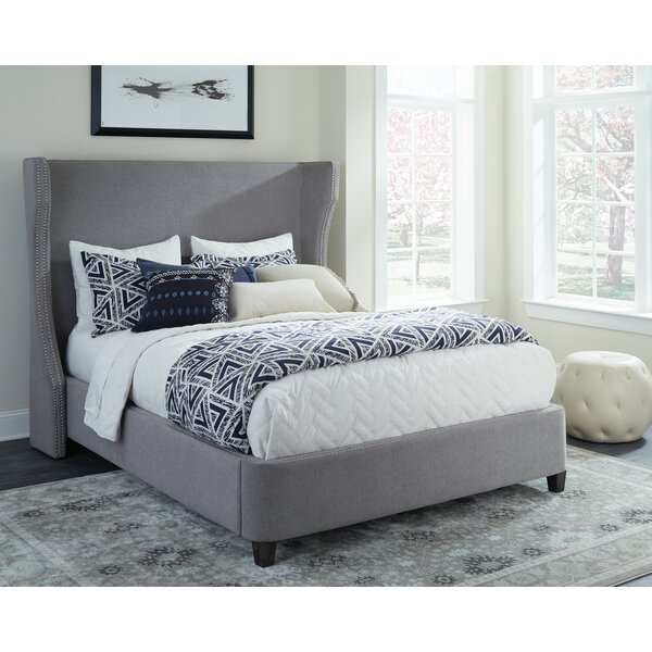 Leandra Upholstered Standard Bed By Red Barrel Studio by Red Barrel Studio Purchase