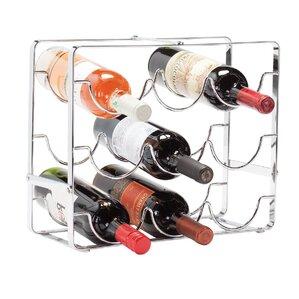 Baeza 9 Bottle Countertop Wine Bottle Rack by Ebern Designs
