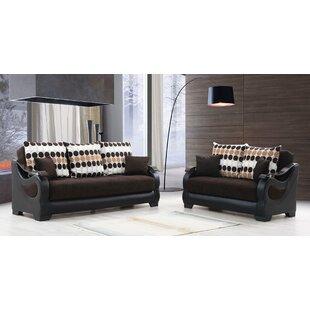 Ajanique Sleeper Configurable Living Room Set by Orren Ellis
