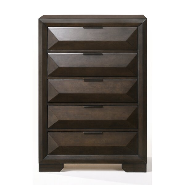 Lancelot 5 Drawer Chest by Brayden Studio
