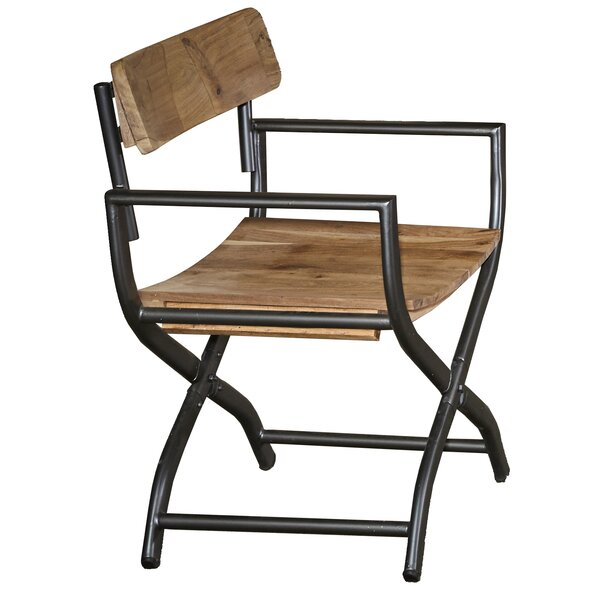 Penrod Solid Wood Dining Chair by Union Rustic