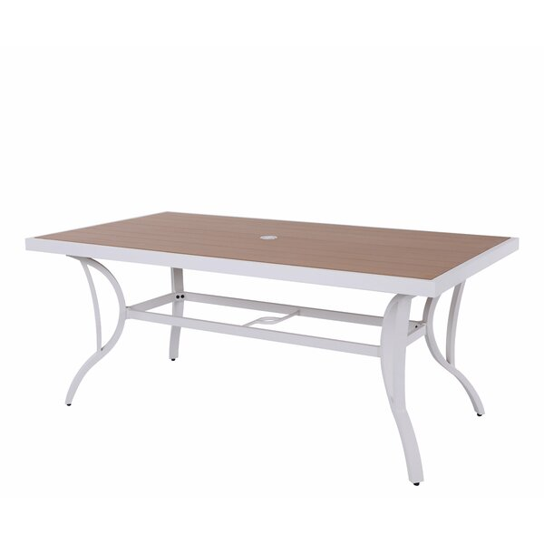 Dianna Dining Table by Rosecliff Heights