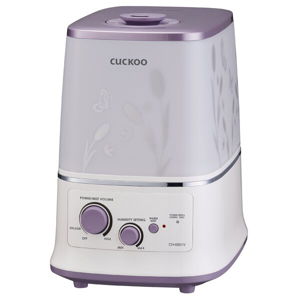 1.59 Gal. Warm Mist Ultrasonic Tabletop Humidifier by Cuckoo Electronics