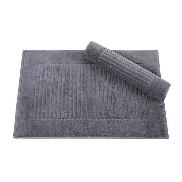 Robie Ribbed Piano Key Bath Rug (Set of 2) by Eider & Ivory