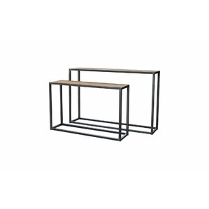 2 Piece Console Table Set by BIDKhome
