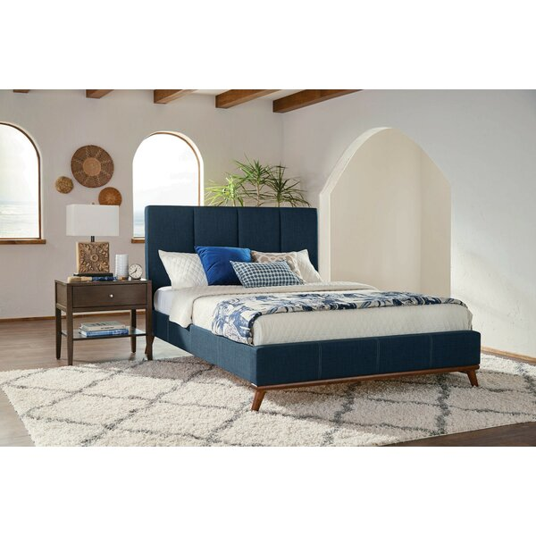 Chesney Upholstered Platform Bed by Corrigan Studio
