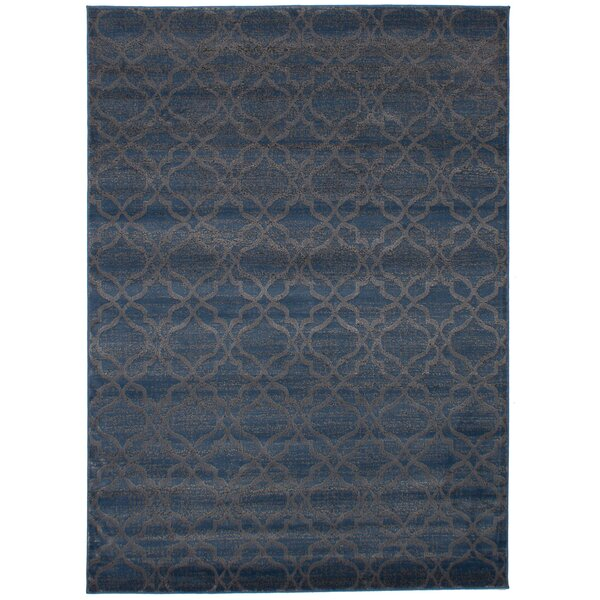 Mccreary Blue Area Rug by House of Hampton
