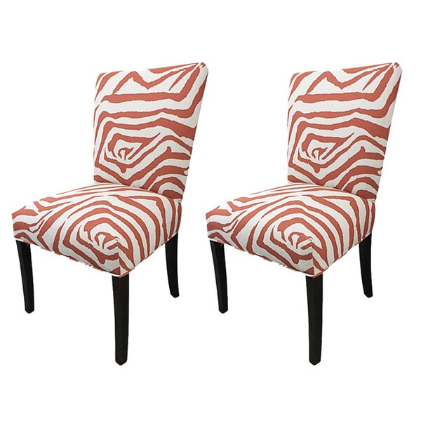 Marzano Cotton Parson Chair (Set of 2) by Bloomsbury Market
