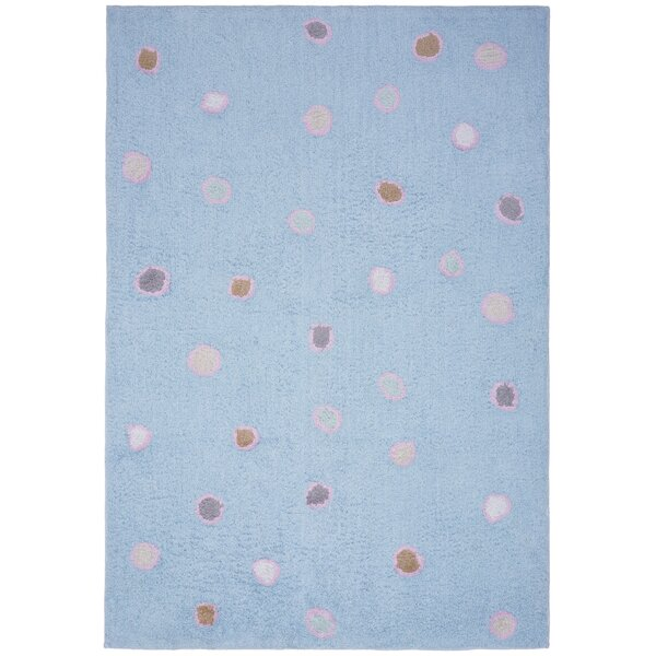 Carousel Blue Dots Area Rug by St. Croix